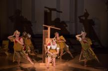 """Performing front left. Racoco Productions, """"i would"""", choreogrpahy by Rachel Cohen, photo by David Gonsieri"""