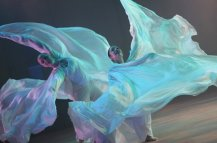 """Performing """"Turbulence"""", Choreogrpahy by Jody Sperling, Photo credit: Julieta Cervantes for The New York Times"""